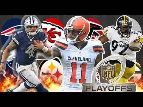 NFL PLAYOFF DRAFT!! - Madden 17 Draft Champions (видео)