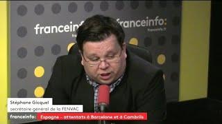 """Solidarité après les attentats de Barcelone : """"Il faut de l'humanité là où le terrorisme va déshumaniser"""" Stéphane Gicquel (FENVAC)"""