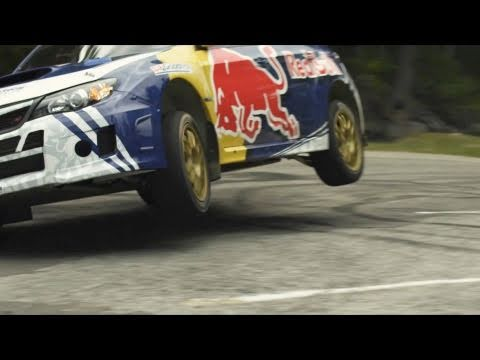 Travis Pastrana Rally Hill Climb