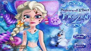 ღ Baby Elsa Injured ღ  Frozen Baby Elsa Injured Game  Baby Games