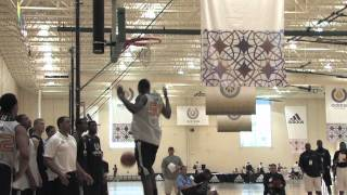 Ibrahima Thomas - Around the Key Dunking Drills