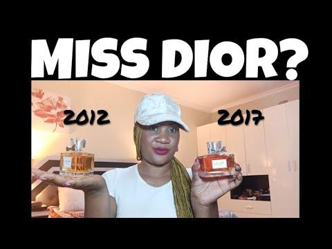 Miss Dior Eau De Parfum 2012 Vs Miss Dior Eau De Parfum 2017