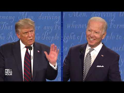 WATCH: 'I am the Democratic Party,' Biden says, challenging Trump | First Presidential Debate 2020