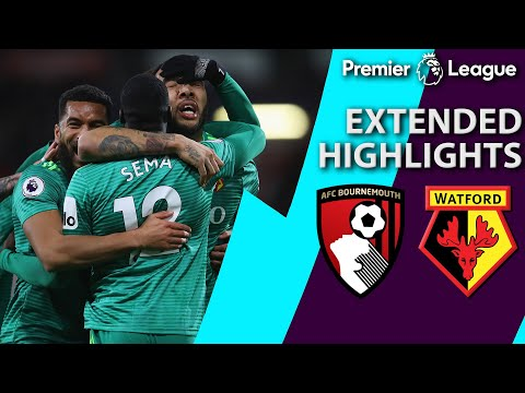 Video: Bournemouth v. Watford | PREMIER LEAGUE EXTENDED HIGHLIGHTS | 1/2/19 | NBC Sports