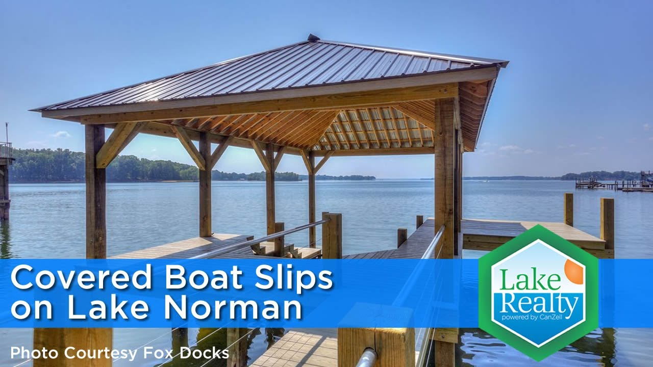 Are Covered Boat Slips Allowed on Lake Norman?