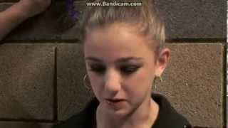 Dance Moms- Kelly comforts Chloe backstage