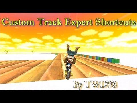 Mario Kart Wii - Custom Track Expert Shortcuts