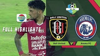 Video Bali United  (1) vs Arema FC (0) - Full Highlight | Go-Jek Liga 1 bersama Bukalapak MP3, 3GP, MP4, WEBM, AVI, FLV Mei 2018