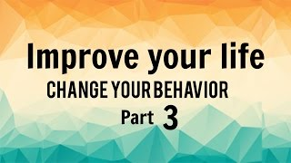 If you want to succeed, you need to prepare. This is critical when it comes to improving your life and changing your behavior.