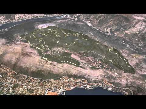 Golf Park Dubrovnik Project video