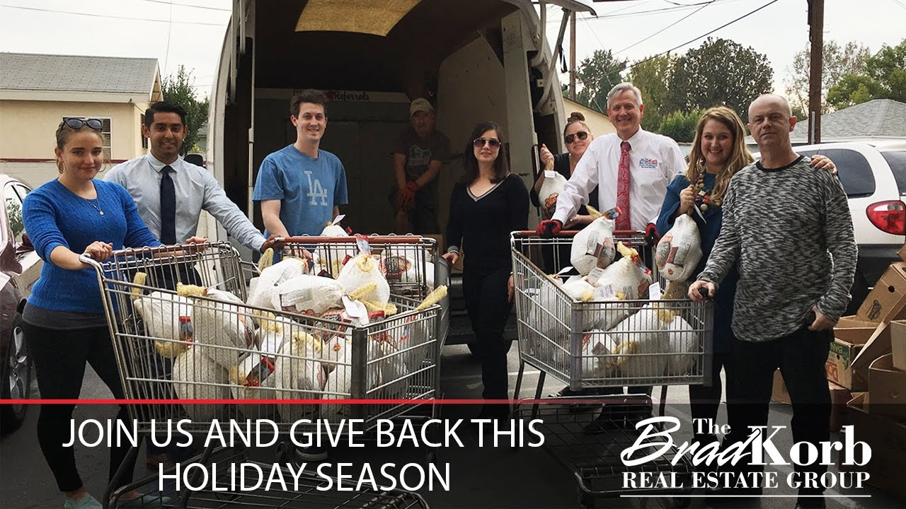 Join Us and Give Back This Thanksgiving and Holiday Season