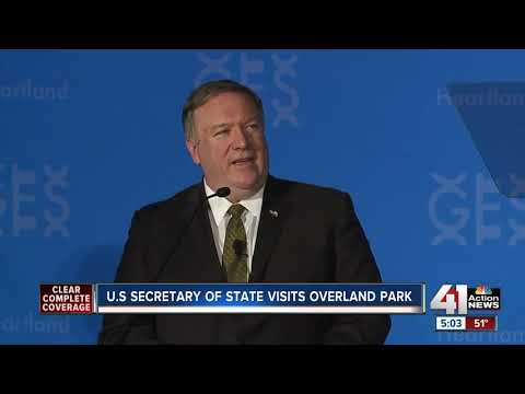 Sec. of State Mike Pompeo to speak in Overland Park as rumors circulate about his political future