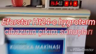 www.denizlihorozu.com  Yücel Işık 05359452286   DENİZLİEforstar Ht24-c Hygroterm 3 çü  bir arada cihaz  Ycl kuluçka