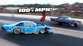Close Call Almost Takes out DOMINATOR! by 1320Video