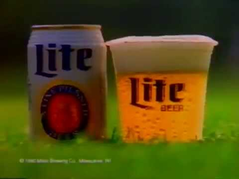 Mrs. WOLF OF WALL STREET Wife 1990: Nadine Miller Lite Commercials