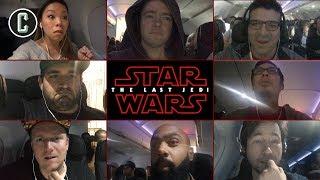 Video Star Wars: The Last Jedi Trailer Reaction at 35,000 Feet - Inside an Airplane! MP3, 3GP, MP4, WEBM, AVI, FLV Desember 2017