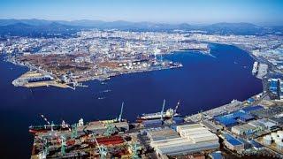 울산공업단지 야경 /korea trip Ulsan industrial complex