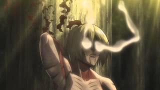 Download Lagu LEVI vs FEMALE TITAN - Attack on titan (Pendulum Witchcraft) HD Mp3