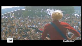 Muse - Cave live @ Eurockeennes 2000 [HD]