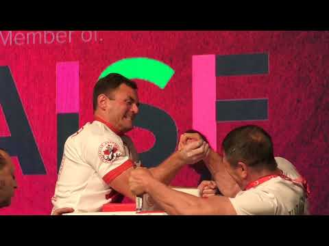 World Arm Wrestling Championship 2018 (Finals Masters RIGHT HAND )