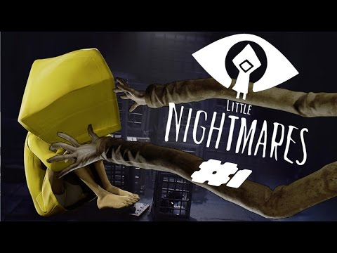 Lets Play Little Nightmares EP1 - Gangly Arms