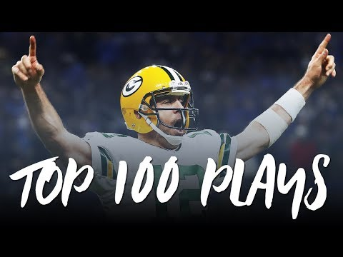 The Top 100 Plays of the '16-17 NFL Season ᴴᴰ (видео)