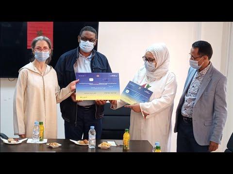شاهد... مؤسسة الكينغ بيلاجيك تشرف على تسليم جائزة احسن مشروع تعاونية على الصعيد الوطني