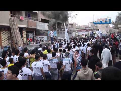 """استعراض رائع لـ """"أولتراس مصر السياسي"""" ضد الانقلاب الغاشم"""