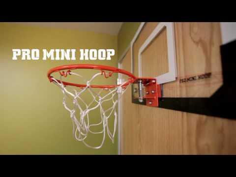 Mini Backboard zum Hängen Basketballkorb fürs Zimmer Set mit Ball & Ballpumpe
