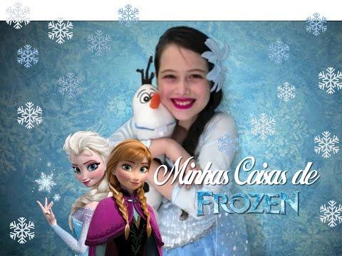 julia - Nesse video eu mostro o que tenho de Frozen, o meu filme preferido. My Objects From the Movie Frozen by Julia Silva - select a English Subtitle Minhas Redes ...