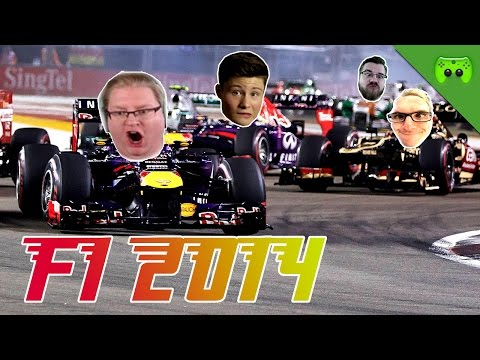 F1 2014 # 12 - GP von Bahrain 2/2 «» Let's Play F1 2014 PC | Full HD