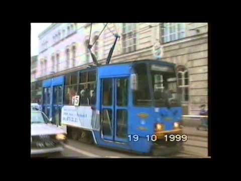 Tramwaje w Poznaniu 1999 rok