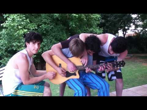 4 guys 1 guitar - Out of the many movies with many people and one item, no this is not like 2 girs 1 cup. although some people may say so. Noah Bamberger (guy at the beggining...