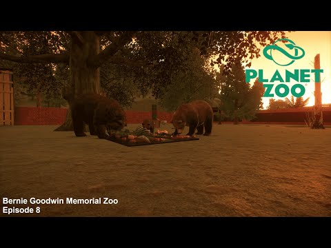 Bernie Goodwin Memorial Zoo - Planet Zoo Career - Episode 8