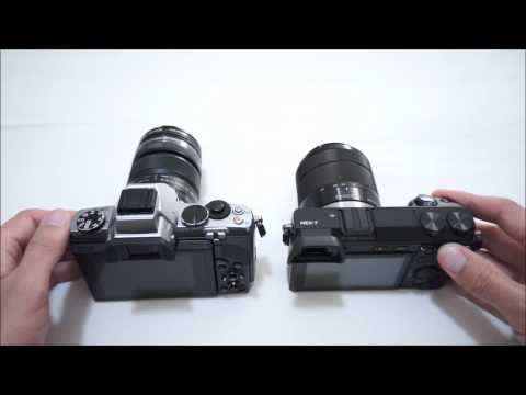 Olympus OM-D EM-5 vs. Sony NEX-7 Head to Head Part 2
