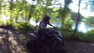 1. 2007 HONDA TRX300EX WITH A FULL FMF POWERCORE 4 SYSTEM