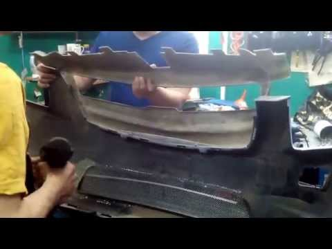 Решетка радиатора шевроле круз в стиле мерседес фото