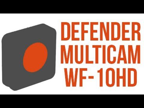 Recenze Kamerky Defender Multicam WF-10HD!
