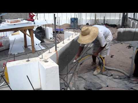 CCS Spraying Stem Wall