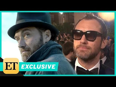 Fantastic Beasts 2: How J.K. Rowling Helped Jude Law Prepare to Play Dumbledore