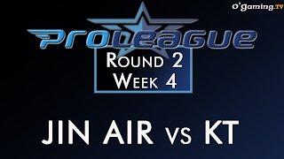2015 Proleague : Round 2 - Week 4 - JIN AIR vs KT