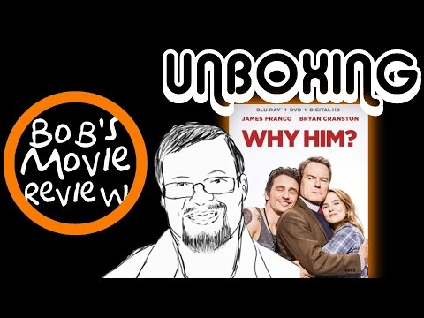 Why Him? Blu-Ray Unboxing