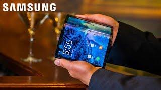 Samsung's Foldable Phone - Full Specs LEAKED