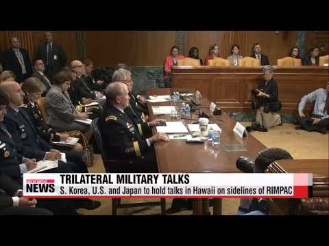 S. Korea, U.S. and Japan to hold military talks in Hawaii on sidelines of RIMPAC
