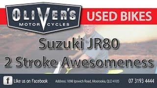 9. Oliver's Used Bike Review Suzuki JR80 2 Stroke