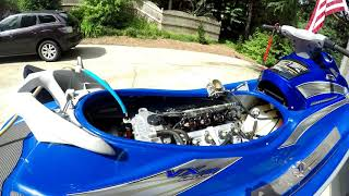 2. 2005 Yamaha VX110 Airbox Removal and Uni install