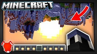 MINECRAFT...but FLIPPED UPSIDE DOWN?!