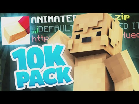 10.000 ABONNENTEN • ANIMATED ITEMS DEFAULT EDIT - TEXTURE PACK!