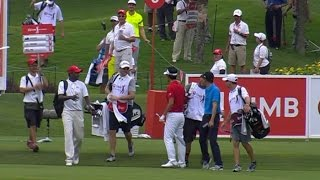 Kevin Na's amazing ace on No. 8 at CIMB by PGA TOUR