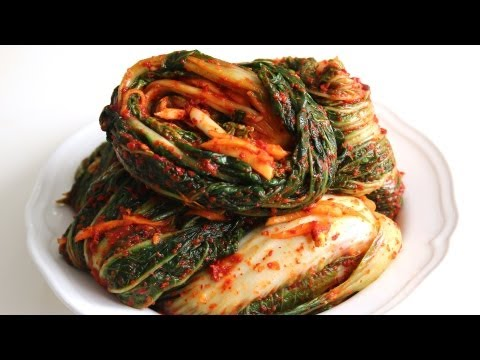 Korean Recipe: How to Make Chinese Cabbage Kimchi and Radish Kimchi – Kaktugi
